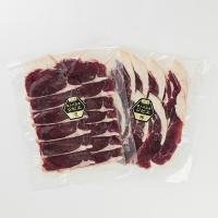 【低カロリーなのに高たんぱく、鉄分も豊富な鹿肉とコラーゲンたっぷり猪肉のセットです。】2015年4月...