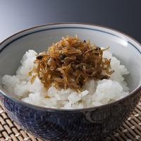 【角昆布、もろこ、ちりめん山椒、 あさり(甘口)、海老くるみの5種の佃煮セットです。】名古屋市の西側...