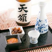 酒造米に山田錦を100%使用した『大吟醸 天領』。中取りの華やかで上品な香りと、透き通った切れが特徴...