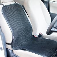 【夏は暑さ軽減、冬は冷え軽減で年中使える背面座面カバーです。】自動車座席用のメッシュシートカバーです...