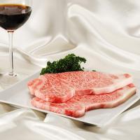 柔らかく、とろけるような霜降り肉が自慢のとちぎ和牛サーロインステーキです。霜降り度が満点ですので牛脂...