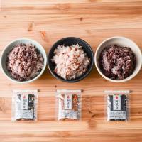 【からだにうれしい古代米を手軽に楽しめる小袋セットです】古代米は白米に比べてビタミン、ミネラルやたん...