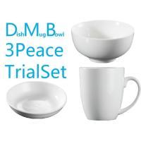10.8cmの茶碗/ライスボウル/スープボウルです。 当店の白いお皿は和洋中選ばないシンプルなデザイ...