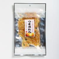 品 名:つまみたら    名 称:魚介類乾製品     原材料:助宗鱈,砂糖,食塩,調味料(アミノ酸...