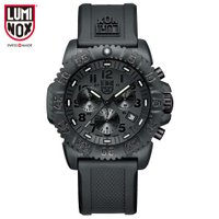 腕時計 メンズ  3081BO  ブラックアウト ネイビーシールズ カラーマーク クロノグラフ 30...