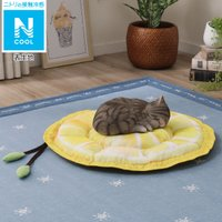 犬・猫用ペットベッド(Nクール o-i レモン) ニトリ 『玄関先迄納品』 『1年保証』