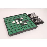 視覚障害者用に開発されたオセロゲームです。盤のマス目の仕切りを凸状にし、コマの黒面にはうず巻き状の凸...