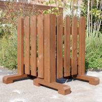 ●庭造りの職人が作るオリジナルの木製フェンス 市販のフェンスにはないナチュラルな風合いと存在感が、お...