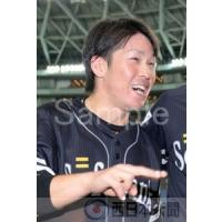 【オリックス−ソフトバンク(10)】オリックスに勝利して笑顔の甲斐