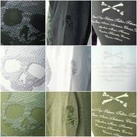Jupiter&Juno  ジュピターアンドジュノ  Metal Skull Long Sleeve Tee(メタル スカル 長袖 Tシャツ)