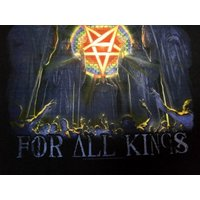ANTHRAX「FOR ALL KINGS」Tシャツ