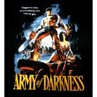 ARMY OF DARKNESS「TRAPPED IN TIME」Tシャツ