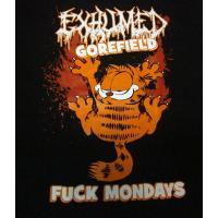 EXHUMED「GOREFIELD」Tシャツ