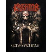 KREATOR「GODS OF VIOLENCE」ジップパーカー