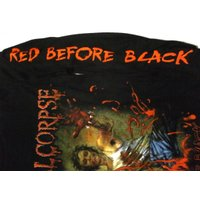 CANNIBAL CORPSE「RED BEFORE BLACK」ロングスリーブシャツ