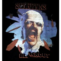 SCORPIONS「BLACK OUT2」Tシャツ