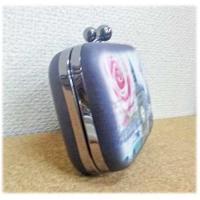KO13390/ガマグチポシェット(ハードタイプ)[CAT GREEN EYE]BAG/雑貨/オシャレ/お出かけ