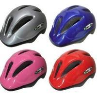 お子様の安全のためヘルメット着用を!  〈特長〉  ●風通しが良くムレにくいので快適!  ●ワンタッ...