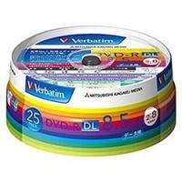 三菱ケミカルメディア データ用 DVD-R DL 8倍速 25枚 インクジェット対応ワイド DHR8...