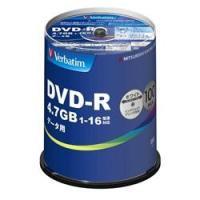 三菱ケミカルメディア データ用 DVD-R 16倍速 100枚 インクジェット対応ワイド DHR47...