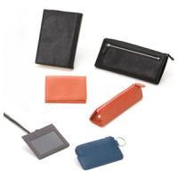 メンズ 2つ折 財布 革 アシュフォード キャロル 2つ折 ウォレット キャロット 8976-041
