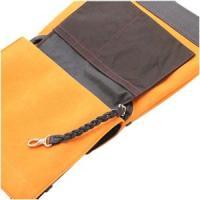 ショルダーバッグ カラーチャート Lサイズ トラベラーズポケット サンセットオレンジ AE15OR
