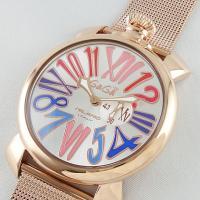 男性女性共にお使い頂けるボーイズモデルです。 ガガミラノの特徴でもある懐中時計をモチーフにしたデザイ...