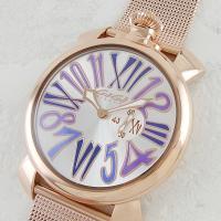 こちらは懐中時計をモチーフにデザインされた華やかなスリムウォッチ。 ユニセックスでお使い頂けるモデル...