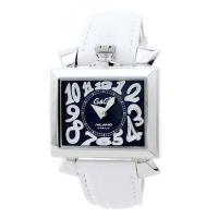 ブラックシェルの文字盤がお洒落なスクエア型の腕時計です。 個性的なデザインなので、腕元のアクセントに...