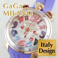 機能、デザインにも優れたスペシャルな1本。 ガガミラノ専用腕時計BOXに入れてお届けします。特別な記...