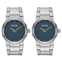 ペア腕時計ボックス(数量限定)プレゼント中!  お洒落なニクソンキャノンシリーズのペアウォッチです。...