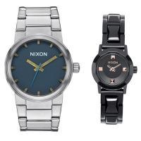 ペア腕時計ボックス(数量限定)プレゼント中! お洒落なニクソンのペアウォッチです。 メンズはキャノン...