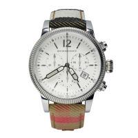 12時のインデックスのみアラビア数字を採用。 マルチカラーのレザーベルトが印象的なラウンド型腕時計で...