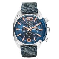 クロノグラフ、デイカレンダー機能搭載のラウンド型腕時計です。 3時位置にはブランド名を配置。 ストラ...