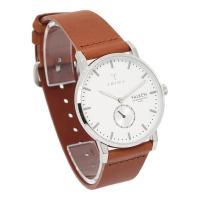 【ご注意:アウトレット】 レザーベルトに薄いスレキズがございます。 腕時計本体は、新品未使用品で他に...