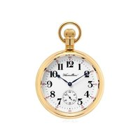 アメリカの名門ウォッチメーカー、ハミルトンのポケットウォッチ(懐中時計)。 数量限定 世界で500点...