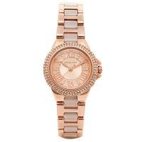 ベゼルにストーンをびっしり敷き詰めたラウンド型腕時計です。 12時位置にはブランド名を配置。 様々な...