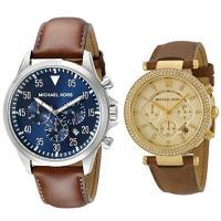 ペア腕時計ボックス(※数量限定)プレゼント中!  腕なじみの良さとエレガントさが魅力のレザーベルトの...