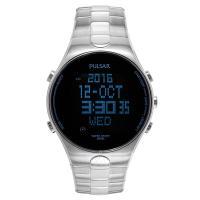 ステンレスブレスレットの多機能デジタルクロノグラフウォッチ。 実用的でお洒落なメンズ腕時計です。 4...