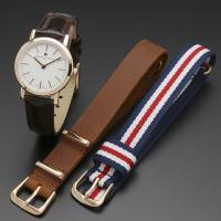 ★ここ数年人気のダニエルウェリントン DW 腕時計のようなシンプル北欧デザイン★  NATOタイプス...