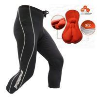 ◆ 伸縮性、通気性、速乾性、クッション性を兼ね備えたレーサーパンツの決定版! ◆ 膝下〜ふくらはぎま...