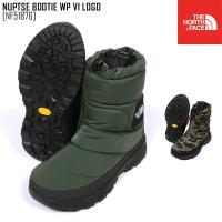 THE NORTH FACE ノースフェイス ブーツ ヌプシ ブーティー NUPTSE BOOTIE WP V LOGOWEAR NF51784 メンズ レディース