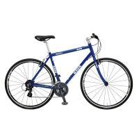 スポーツ走行の爽快感を気軽に味わえるシンプルなクロスバイク。  今なら1500円相当のワイヤーロック...