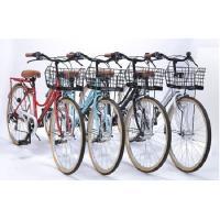 ≪代引不可≫  ●デザインに拘ったファッショナブルサイクル! ●軽量設計で乗りやすさ抜群! シマノ製...