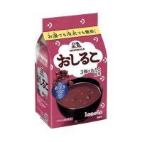 【送料無料】【2ケースセット】森永製菓 おしるこ 72g(18g×4袋)×20袋入×(2ケース)