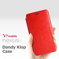 Nexus6 ケース カバー/ VERUS Dandy Klop Diary  for Google...
