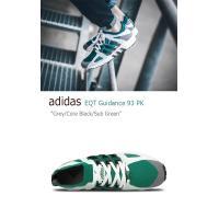 adidas EQUIPMENT GUIDANCE 93 PRIMEKNIT Grey Core Black Sub Green アディダス S79127 スニーカー シューズ