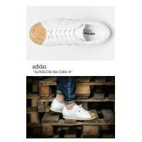 アディダス adidas メンズ レディース SUPERSTAR 80s CORK W スーパースター80sコルクW Ftw White Off White ホワイト BA7605 スニーカー シューズ