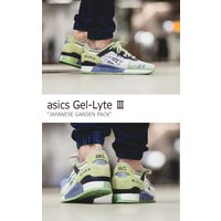 asics Gel-Lyte 3 Japanese Garden Pack White White アシックスタイガー ゲルライト3 3H629N-0101 シューズ メンズ レディース スニーカー シューズ