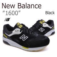 【送料無料】New Balance/1600/Black【ニューバランス】【ブラック】【CM1600...